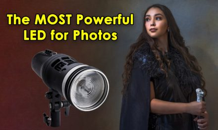 Compact and Powerful LED for Photos