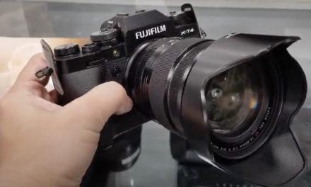 First Look at Fujifilm X-T4