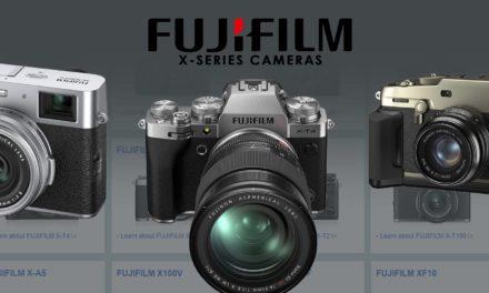 FujiFilm X Series Camera Comparison