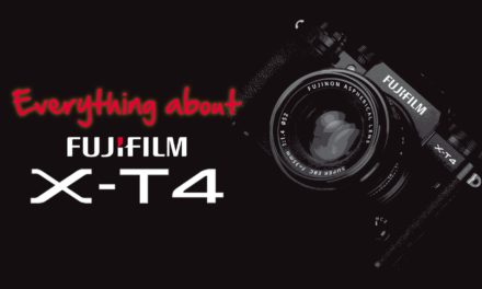 Everything about the Fujifilm X-T4