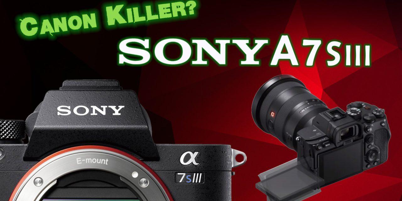 Sony A7sIII – Canon R5 Killer?