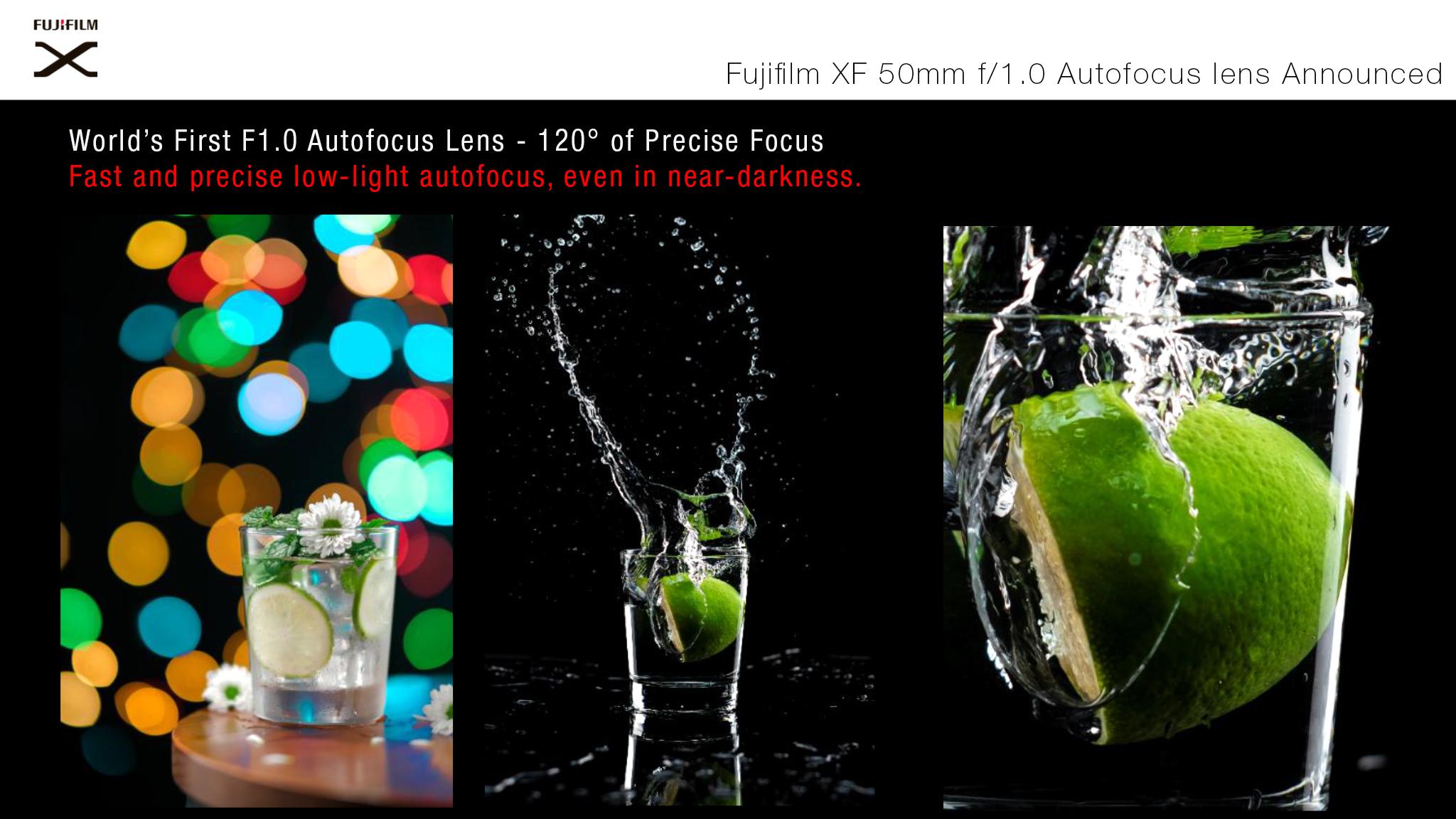 Fujifilm XF 50mmF1.0 R WR