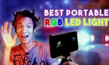 BEST portable RGB Light!