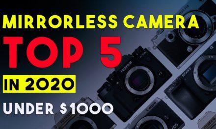 Top 5 Mirrorless Camera