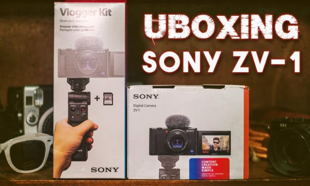 Sony ZV-1 Unboxing