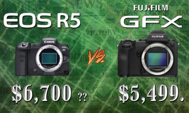 EOS R5 vs GFX50!
