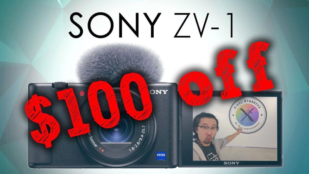 Sony ZV-1 Discount