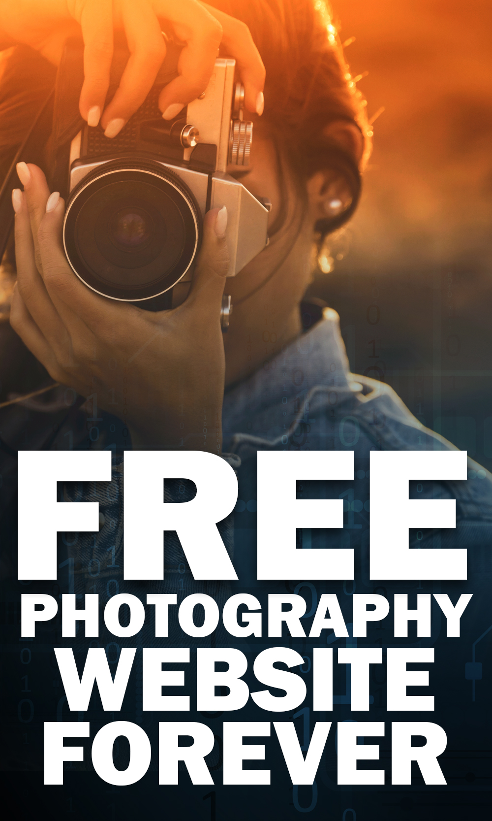 Learn how to get a forever free photography website!