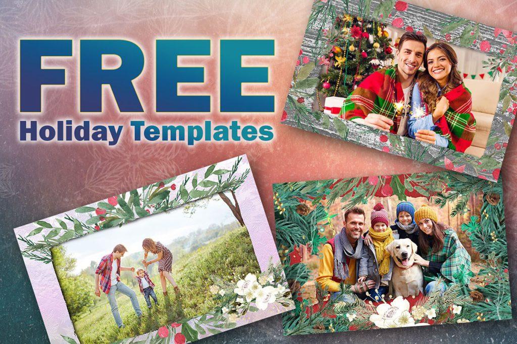 Free Holiday Photo Templates