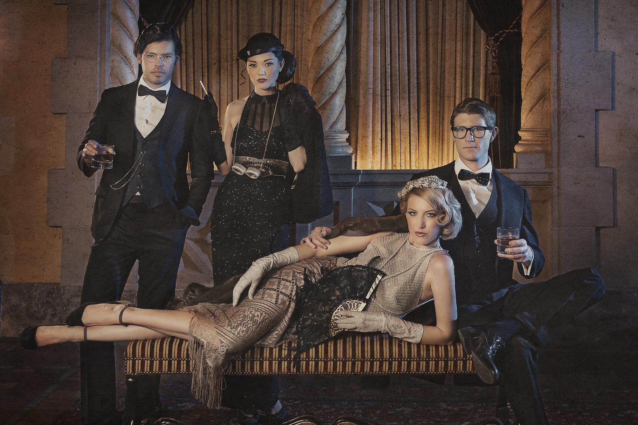 Great Gatsy Group photo