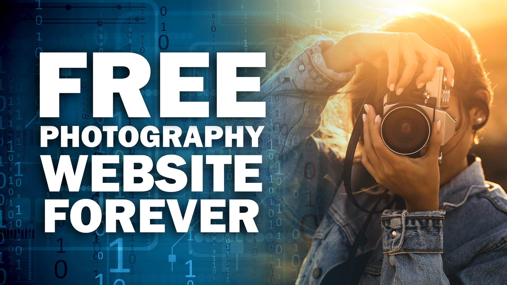 Webstabbers - Free Photography Website Forever - Course Image
