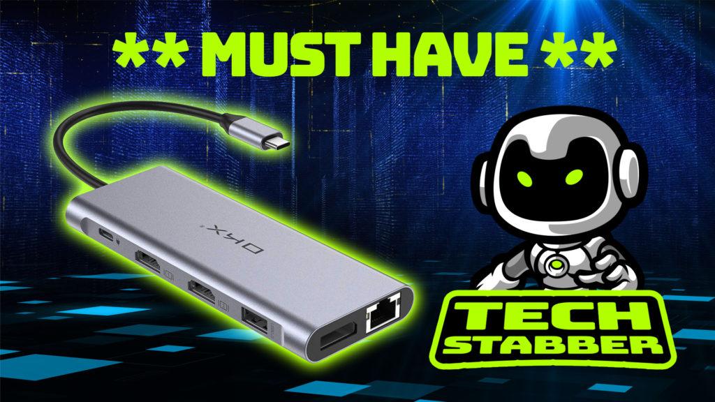 M1 MacBook Accessories **MUST HAVE ** USB-C Hub | USB Type-C Hub | OKX USB C Laptop Hub | USB DOCK