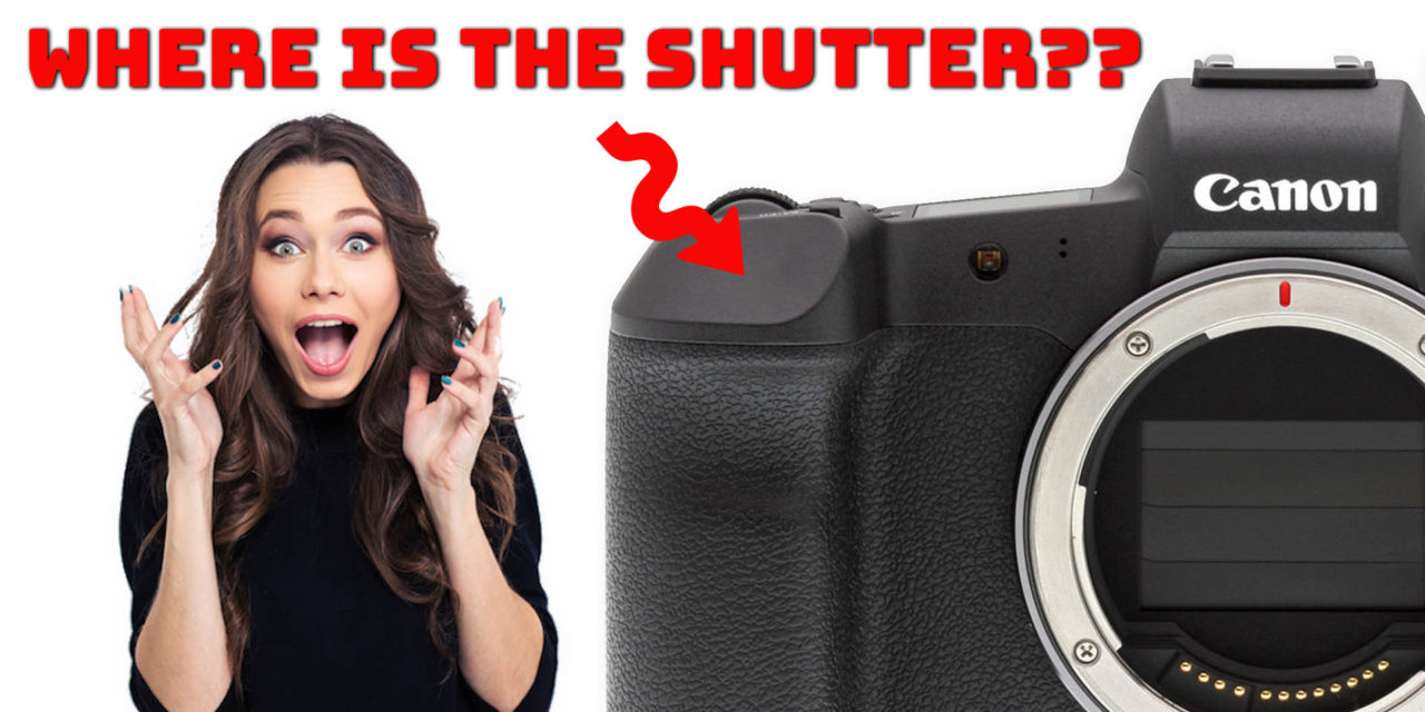 canon NEW patent application – replacing the shutter button