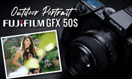 Outdoor Portrait using medium format Fujifilm GFX 50s