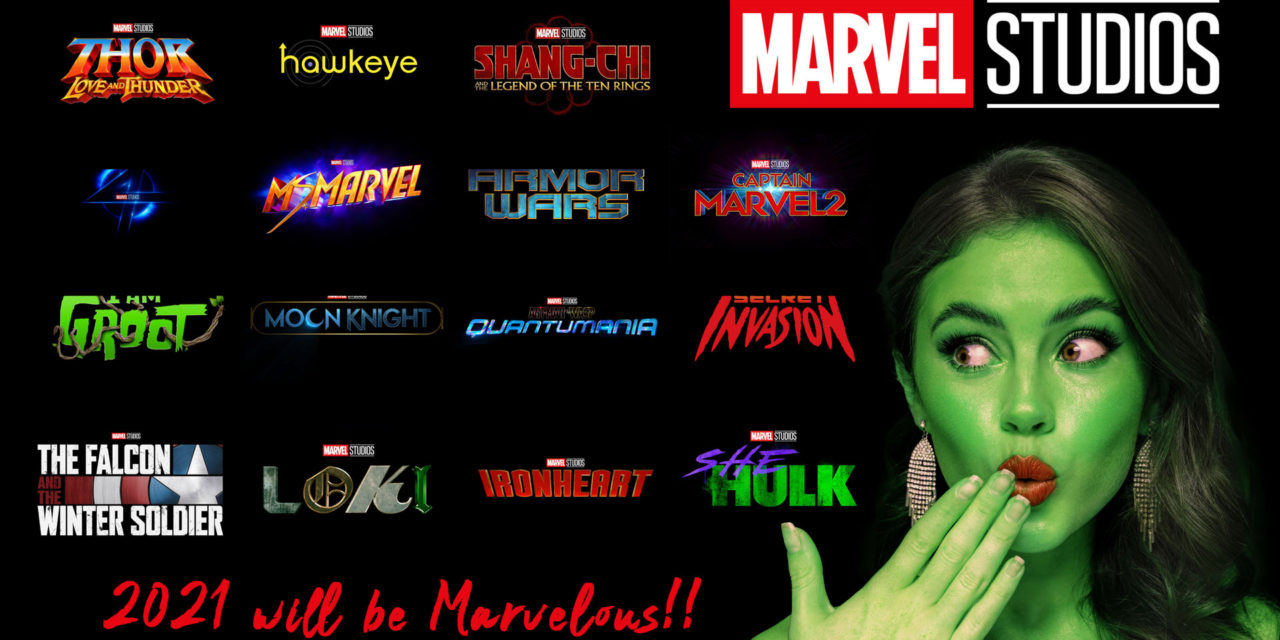2021 and beyond will be Marvelous