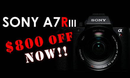 Sony A7R III – $800 OFF!