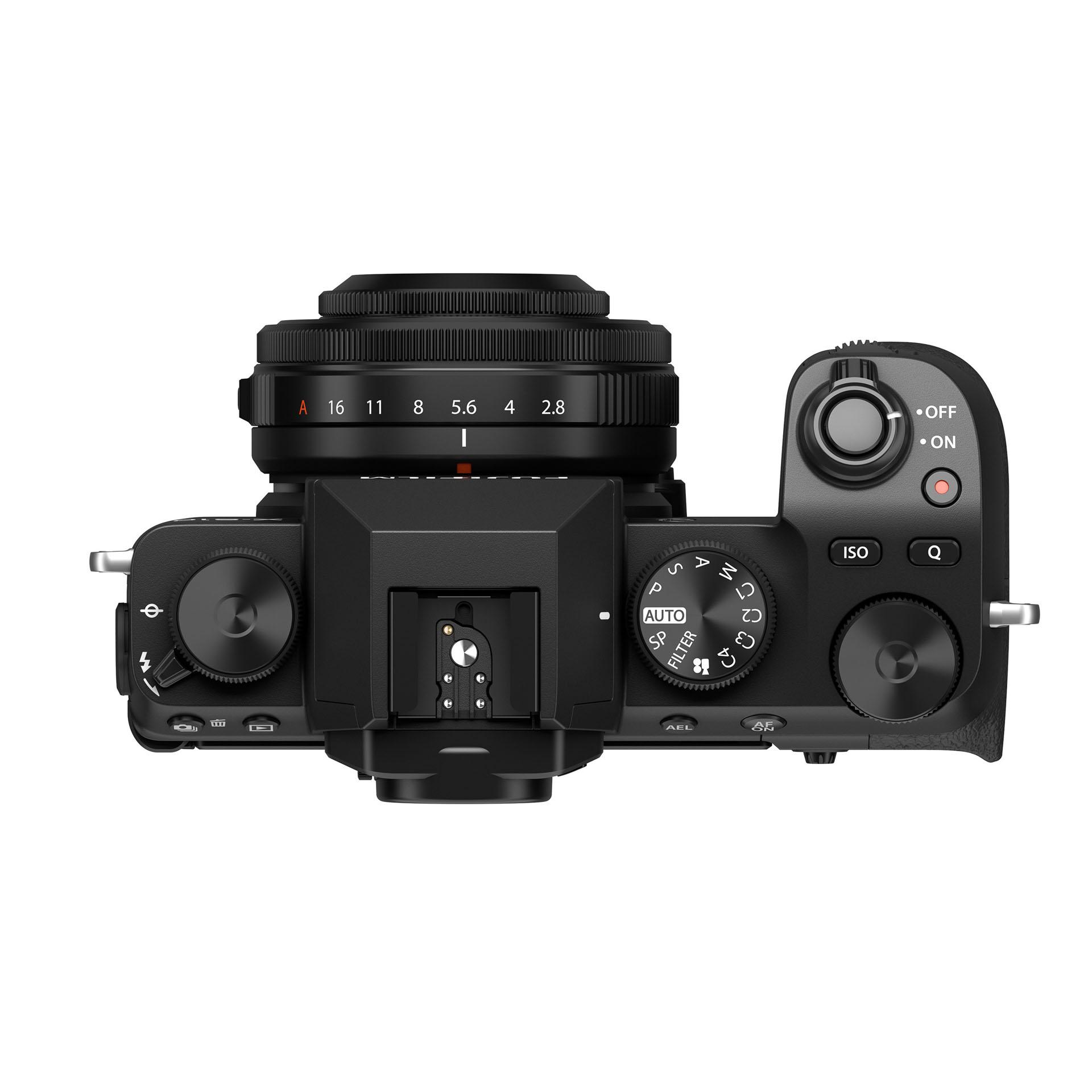 XF27mm mount on xs10