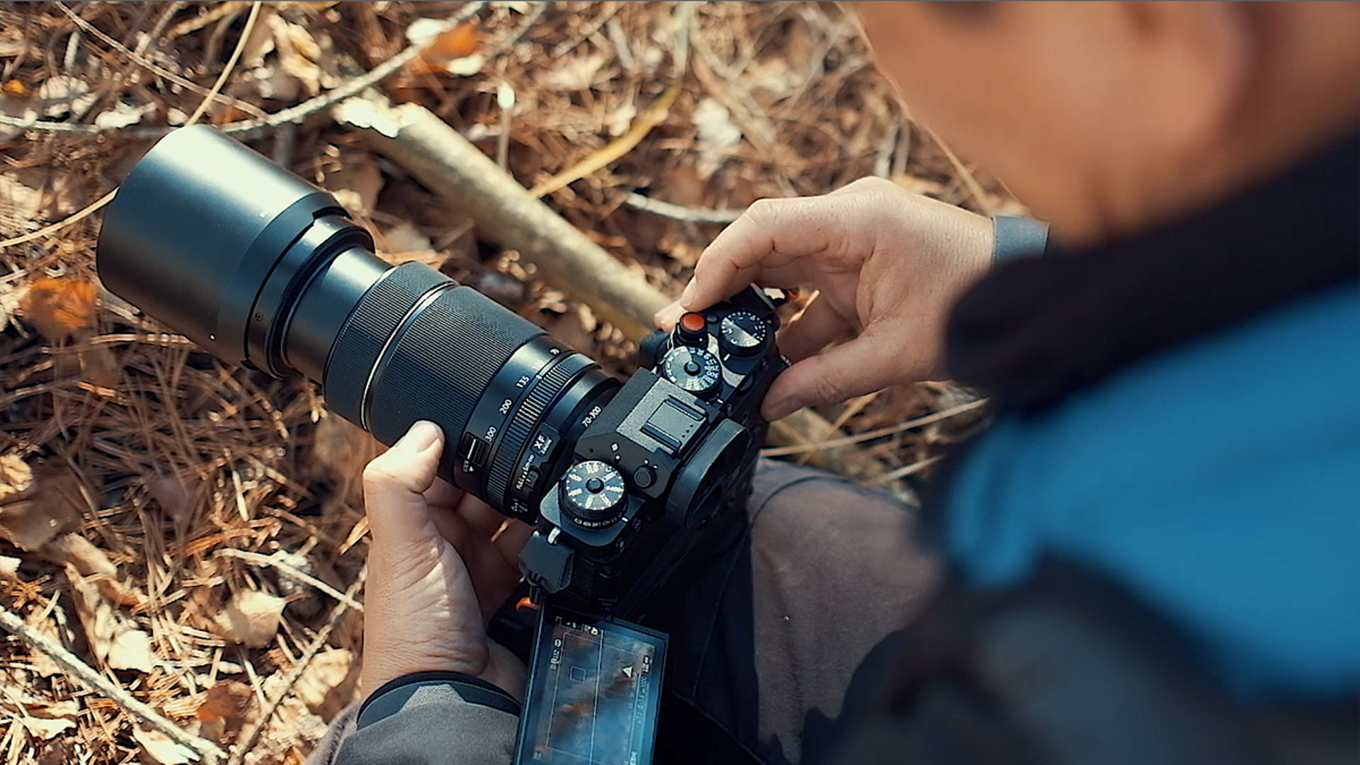 XF70-300mm in action
