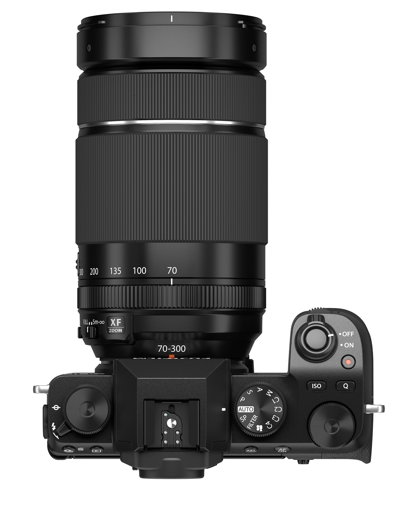 XF70-300mm on X-S10
