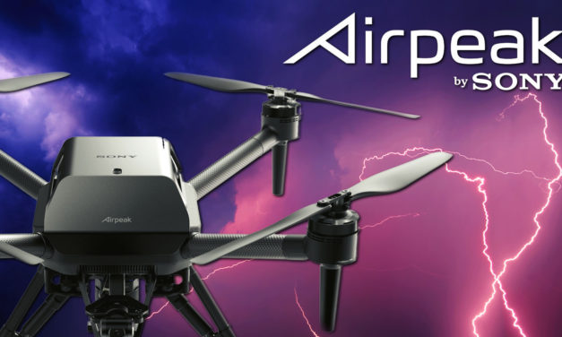 Here is Sony's Airpeak drone