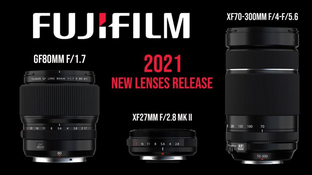 Fujifilm new XF and GF lenses