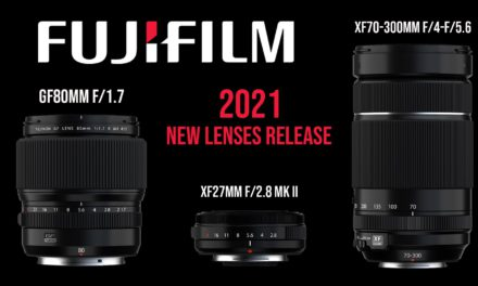 Fujifilm 2021 new lenses release