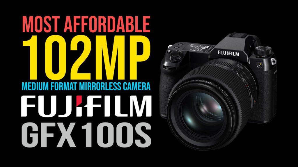 fujifilm GFX100s full specs