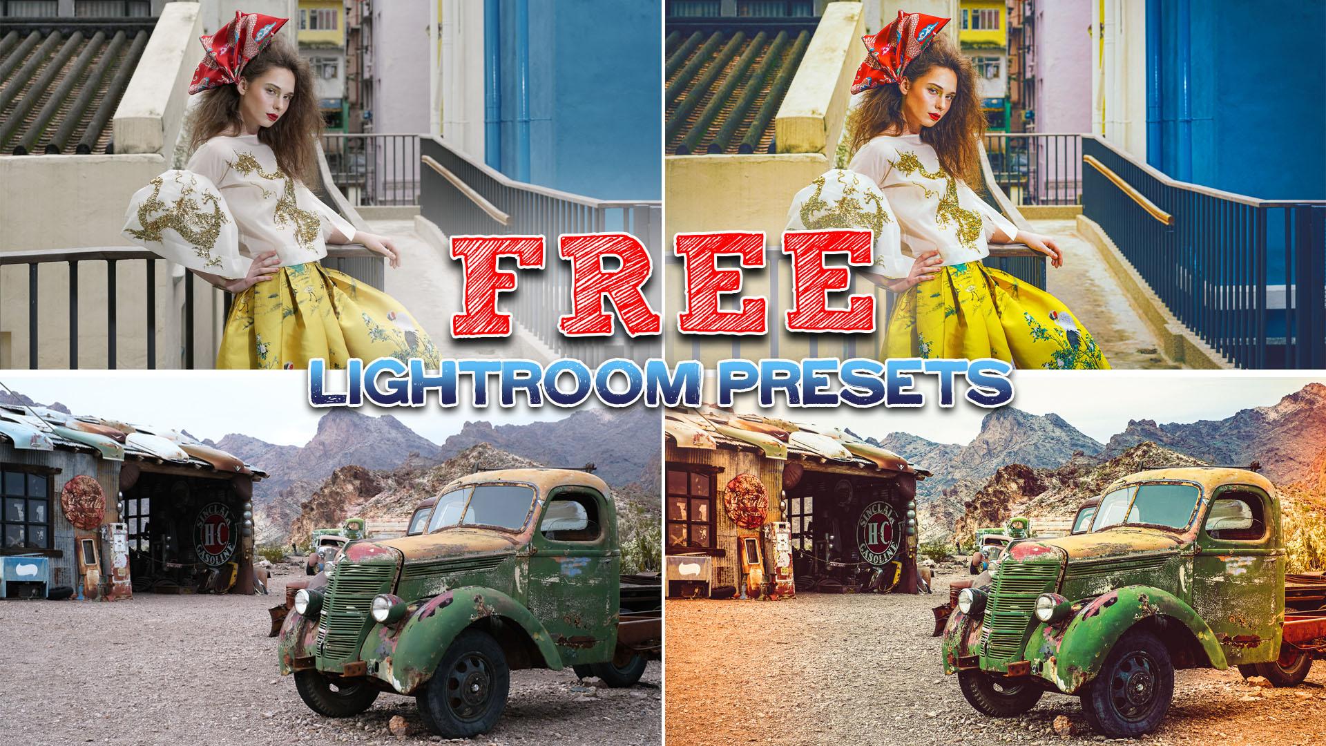 FREE Lightroom Preset from PixelStabbers