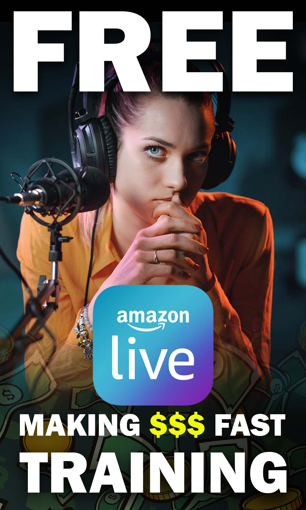 Learn How to Make Easy Money on Amazon Live - How to make Money on Amazon Live
